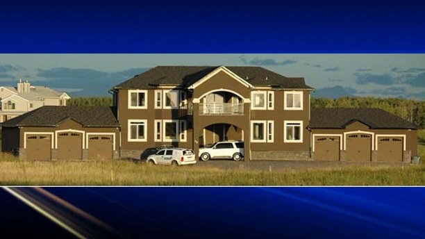 A proceeds of crime restraint order was granted and registered against a $1.5 million property in Rocky View, Alberta