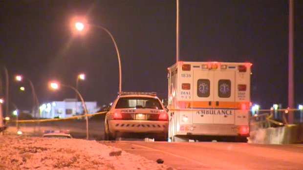 Calgary police are investigating the suspicious death of a woman found in a car on Country Hills Boulevard