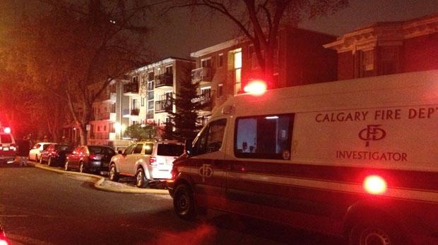 Fire ravages southwest apartment | CTV Calgary News