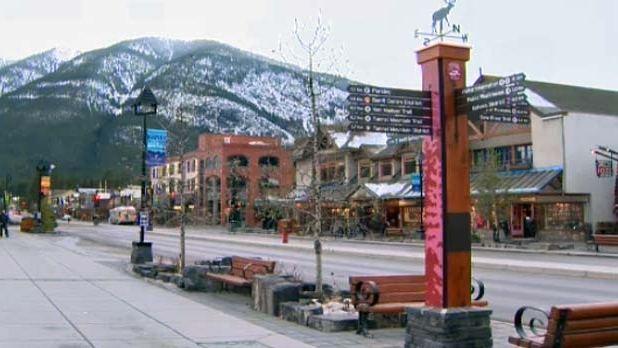 Businesses in Banff are hoping for a busy season with an early start to the season