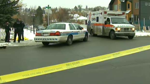 Police are investigating a suspicious death in Bridgeland.