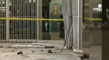 Doors smashed in Market Mall jewelry store robbery