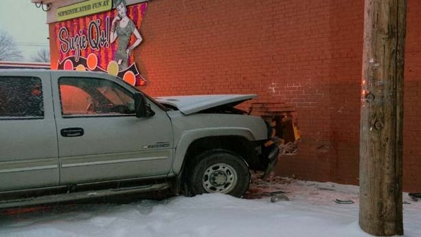 A vehicle crashed into Suzie Q's in Inglewood. (Photo Courtesy: Suzie Q Beads Buttons and Bijoux)