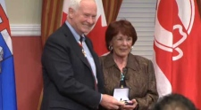 Colleen Klein and David Johnston