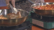 ctv morning live, spanish chick pea stew