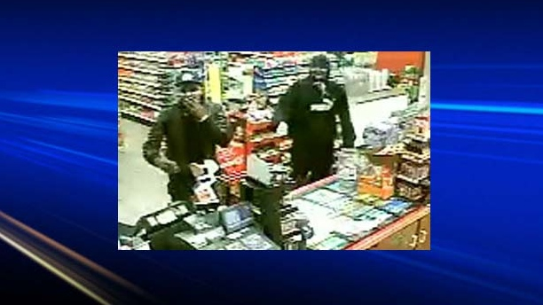 Police have released photos of two people