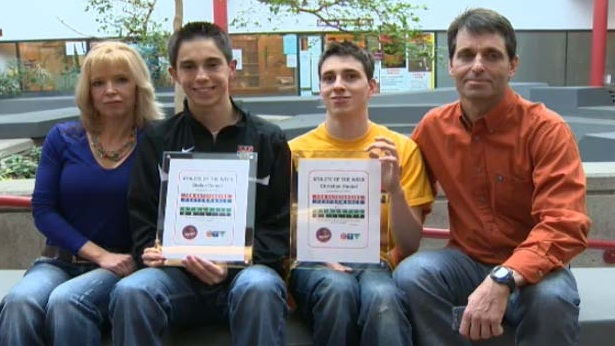 The Daniel family is our CTV Calgary Athletes of the Week