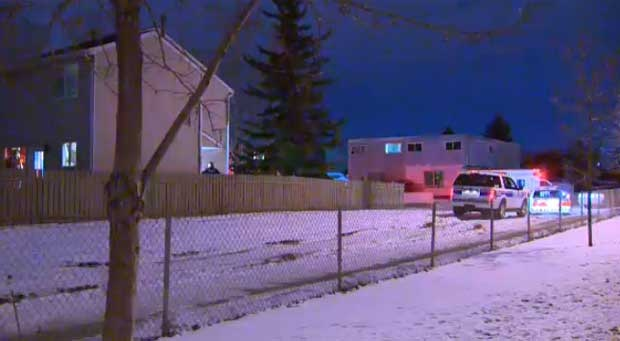 Police are on scene in the southeast Calgary community of Dover after a baby was found dead inside a home in the middle of the night.