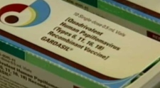 HPV vaccine carton
