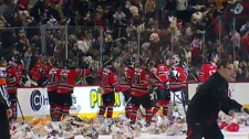 Hitmen teddy bear toss