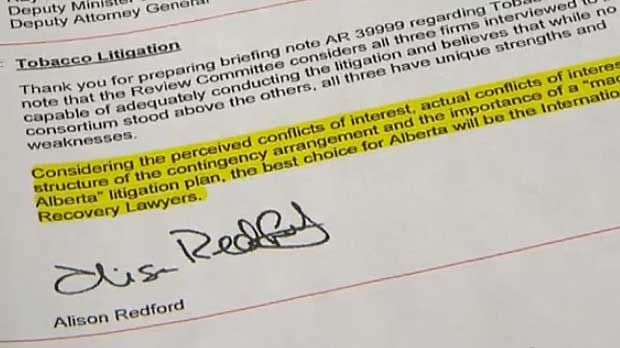 Redford said last year that while she did make the suggestion, she did not make the final decision.