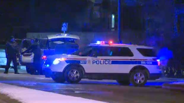 Calgary Police now have a man in custody following a standoff in Bowness on Friday morning.
