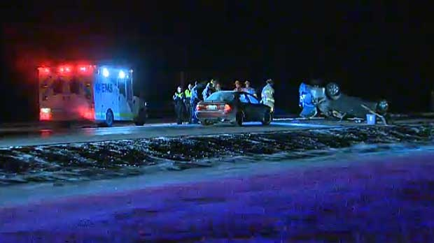 Fatal rollover northwest of Calgary