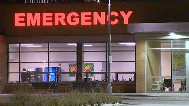 Emergency department at Peter Lougheed Centre