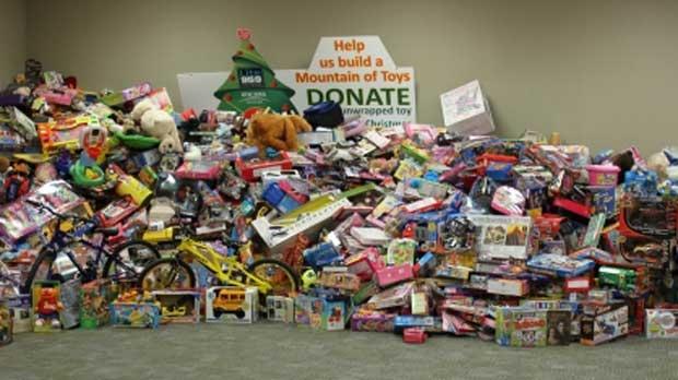 Toys For Trucks Calgary : Calgary police move mountains this christmas ctv