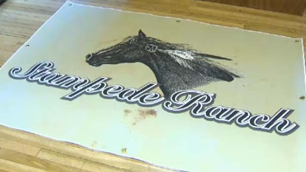 The new logo includes a horse with feathers to represent the ranch's connection to First Nations.