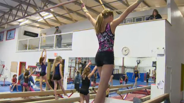 Gymnast Kylee Rude is looking to finish atop the podium at a January competition in Hawaii