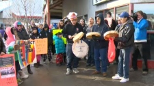 Idle No More - Harper's office