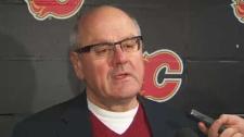 Calgary Flames President Ken King