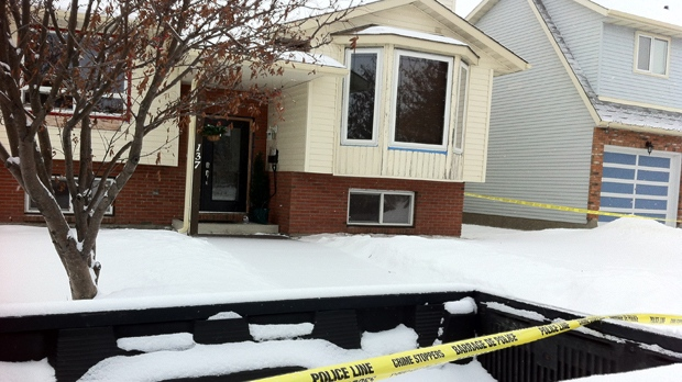 RCMP officers discovered the body of Garland Curtis inside an Airdrie home on January 12, 2013