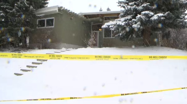 Police say that four people initially showed up at this home on Brisebois Drive on early Saturday morning, and the hosts called the police to have them removed.