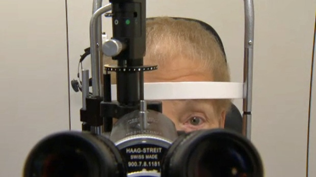 The Alberta government has announced a new pilot project that it says will provide more treatment options for Albertans suffering from vision loss, and save patients approximately $300 every year.