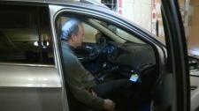 Brad Silver was in a battle over his SUV