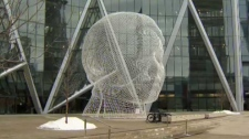 The Bow, Wonderland, Spanish sculptor Jaume Plensa