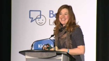 Olympian Clara Hughes, Bell Let's talk Day, Mental
