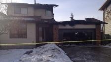 Castleridge house fire