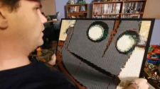 David Ware, Lego artist, Lego portraits, Lego