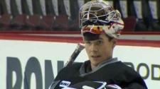 Leland Irving, Calgary Flames, Abbotsford Heat, Go