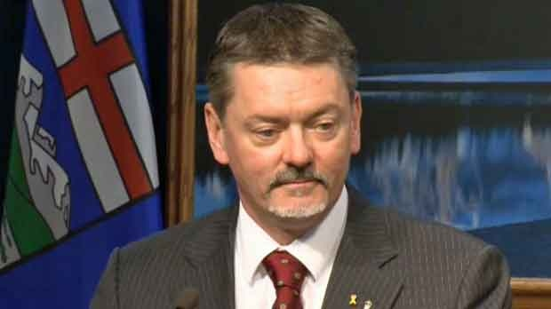 Finance Minister Doug Horner released the results in Calgary on Tuesday Feb 19 , 2013.