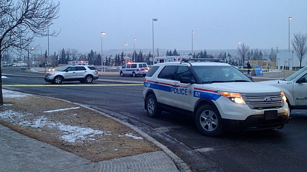 Calgary Police investigate a fatal hit and run on Sandstone Dr. N.W.
