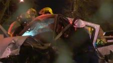 Memorial Drive crash