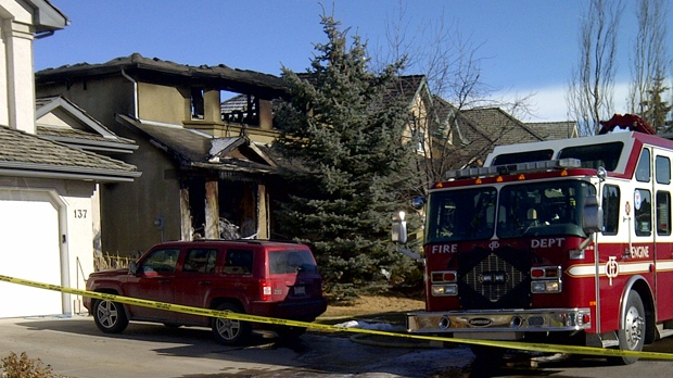 An Evergreen Way home was the scene of a fatal house fire