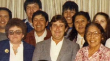 Ralph Klein, First Nations, Siksika, Chief Adrian
