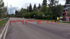 Roads closed, Elbow Drive