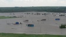 Siksika flooding