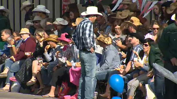 Stampede Parade Goes On Come Hell Or High Water Ctv