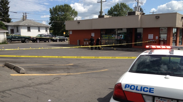 Calgary police were called out to investigate a fatal Saturday evening stabbing.  The victim was located in the parking lot of the Forest Lawn Tim Hortons.
