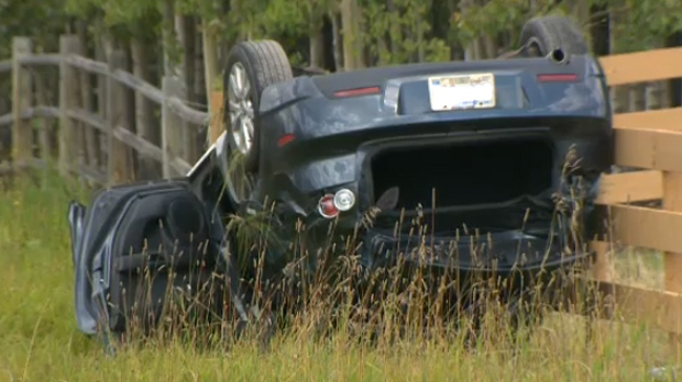Cochrane rollover - September 8, 2013