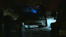Police investigate vehicle