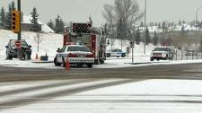 Crashes, snow, Calgary snow, snowfall, winter weat