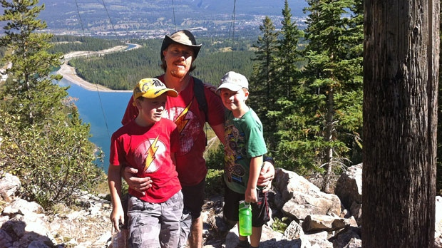 Mark has two sons and a trust fund has been established to help the family.