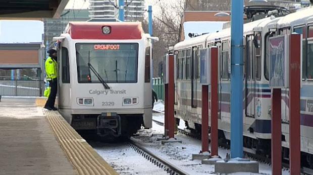 CTrain crash, Sunnyside Station, Sunnyside LRT Sta