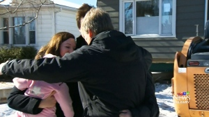 CTV Calgary:  Free house recipients tour new home