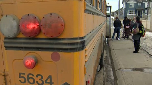 Police say drivers should slow down around school buses when they are picking up and dropping off children.