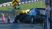Crowchild crash