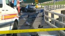 Crowchild crash traffic